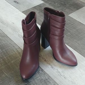 BOGO! F21 heeled booties